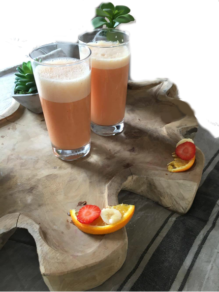 blog, smoothie, orange, banana, strawberry, healthy recipe, easy recipes, recipes, organic, organic recipes, recipe, organic food blog, organic happiness, food blog