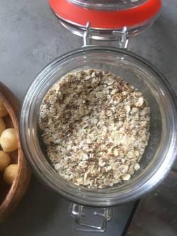 blog, vegan, ontbijt, oats, overnight oats, havermout, recept, ontbijtrecept, gezond, gezond recept, lekker, makkelijke recepten, biologisch, biologische foodblog, organic happiness